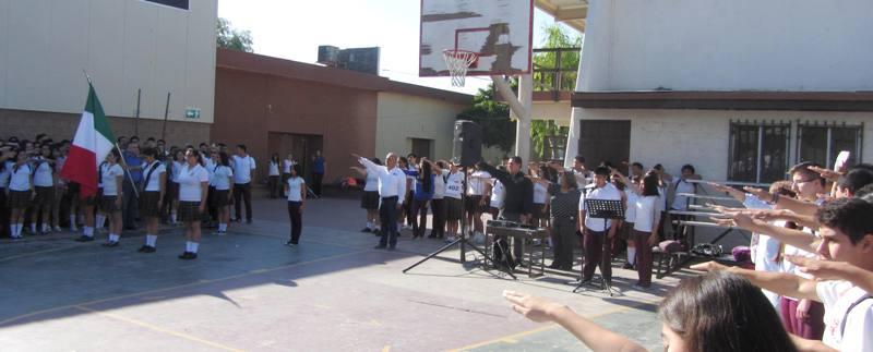 acto c205vico en plantel mexicali cobach bc